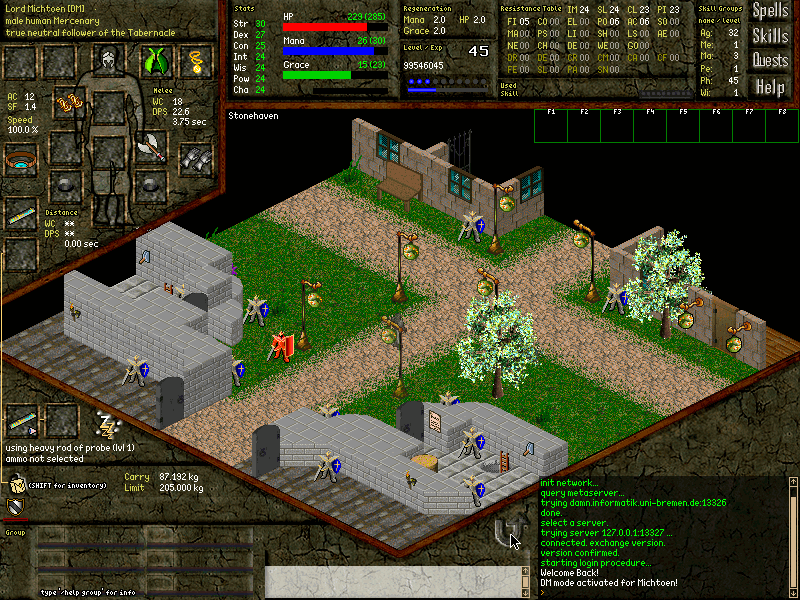 Screenshot of Daimonin